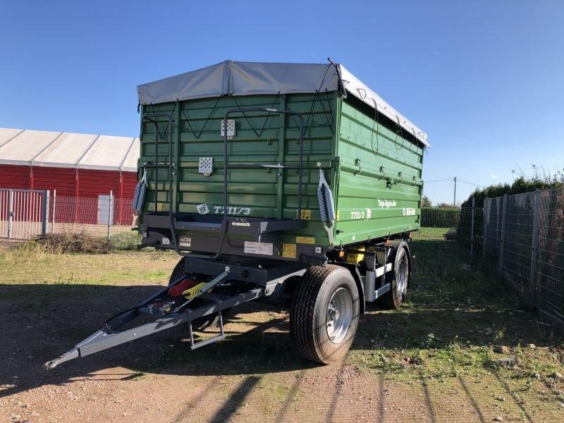 Remorca agricola cu doua axe T 711/2